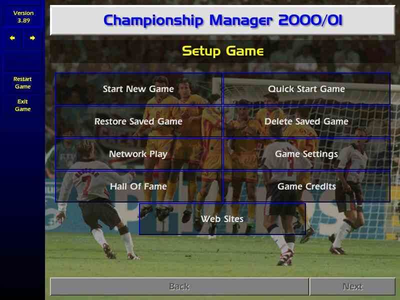 Championship Manager: Season 00/01 – Download - Download