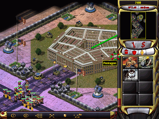 command and conquer abandonware