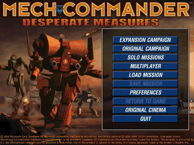 Mech Commander: Gold – Download - Download