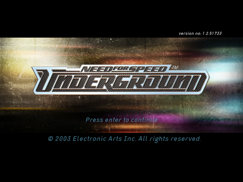 Need for Speed: Underground - Download