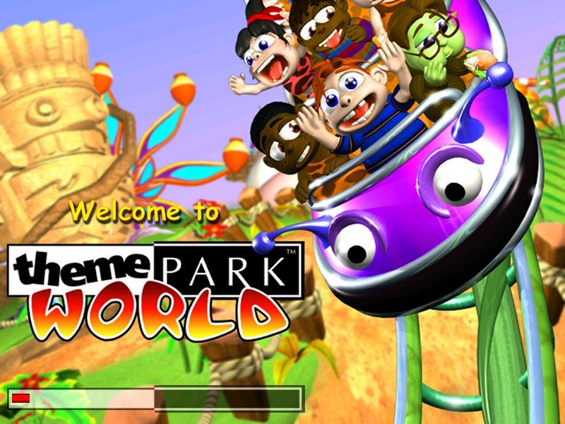 Theme park world (sim theme park) gameplay youtube.
