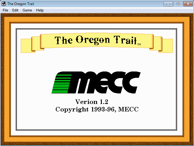 The Oregon Trail 1.2 for Windows – Download - Download