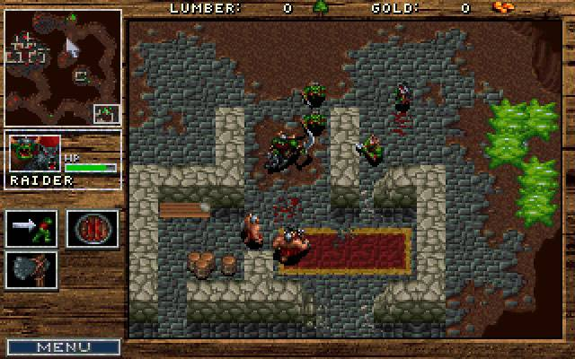 Warcraft 1 orcs and humans pc review and full download | old pc.