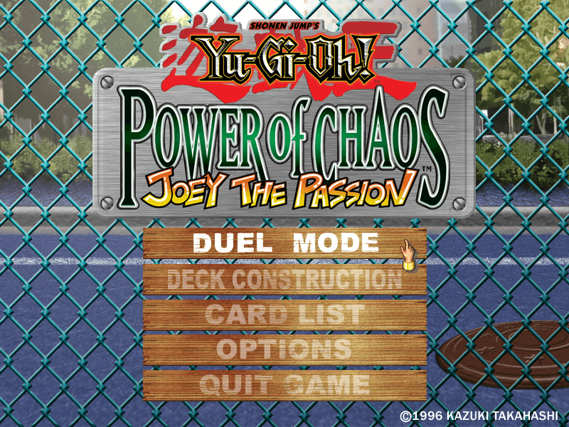 Yu-Gi-Oh! Power of Chaos: Joey the Passion – Download - Download