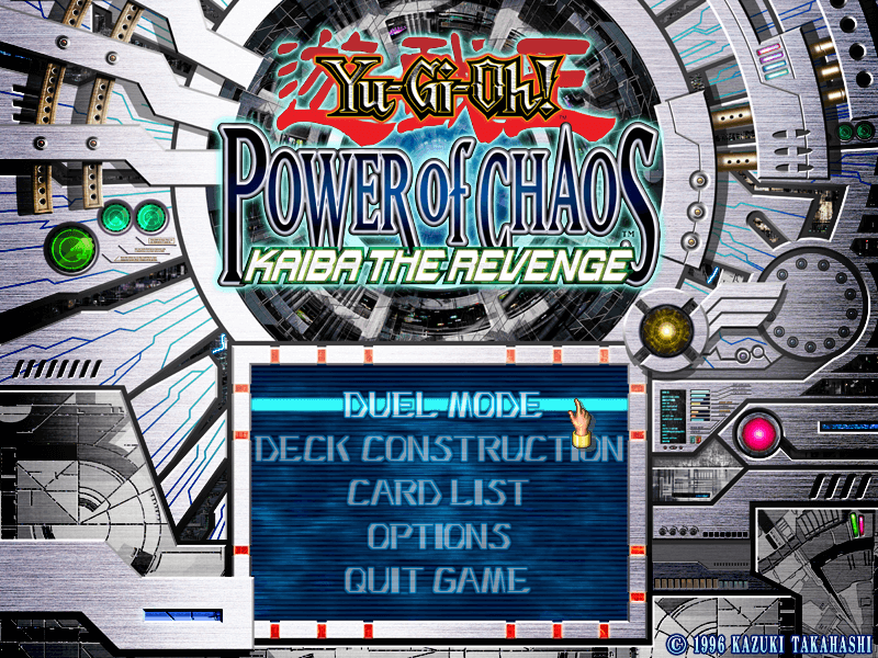 Yu-Gi-Oh! Power of Chaos: Kaiba the Revenge – Download - Download