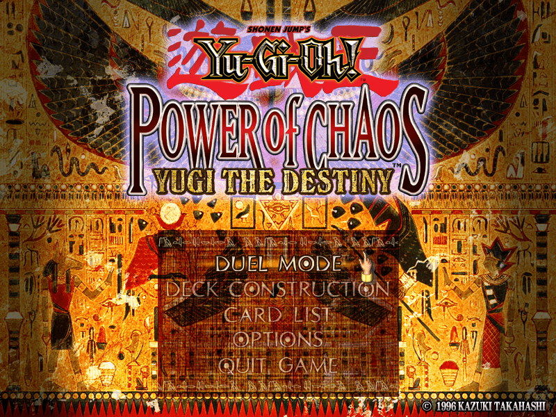 Yu-Gi-Oh! Power of Chaos: Yugi the Destiny - Download