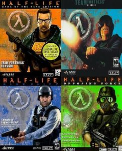 Half-Life + Half-Life: Blue Shift + Half-Life: Opposing Force Free Download