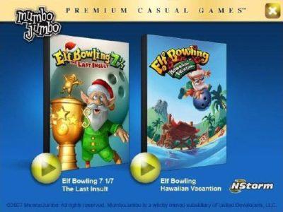 Elf Bowling Holiday Pack (Elf Bowling 7 1/7 Hawaiian Vacation) Download free
