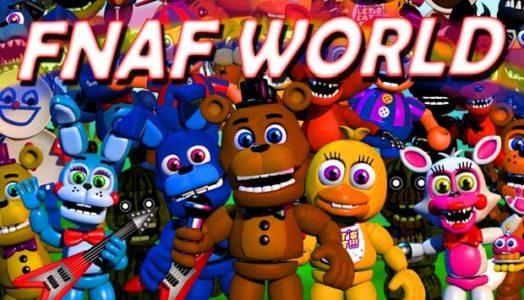 FNaF World (v1.24) Download free