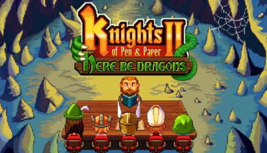 Knights of Pen and Paper 2 Here Be Dragons Free Download (v2.5)