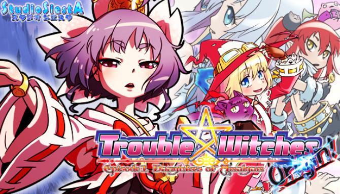 Trouble Witches Origin Episode1 Daughters of Amalgam Free Download