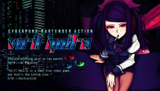 VA-11 Hall-A: Cyberpunk Bartender Action Free Download (v1.3)